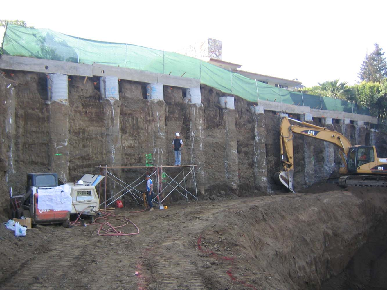 Soldier Pile Retaining Wall Design Ask Home Design
